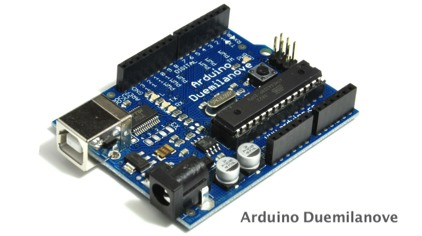 Arduino Duemilanove development board