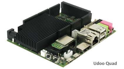 Udoo Quad development board
