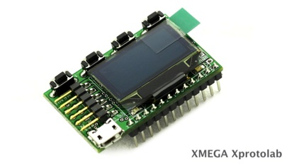 XMEGA Xprotolab development board
